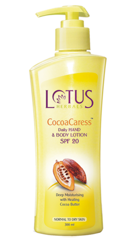 Lotus Herbals Cocoacaress Daily Hand & Body Lotion Spf 20 300 ml
