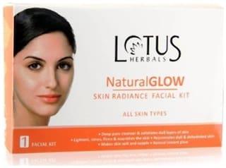 Lotus Herbals Natural Glow Skin Radiance Facial Kits 50 g( Pack of 2)