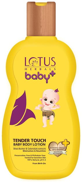 Lotus Herbals baby+ Tender Touch Baby Body Lotion 100ml