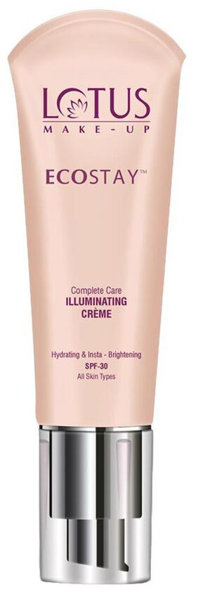 Lotus Herbals Make-up Ecostay CC Complete Care Illuminating Cre me SPF 30 Snow light (IC01) 25g