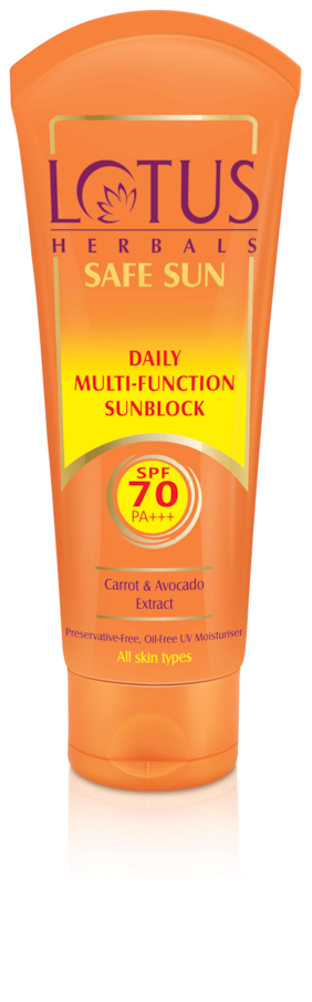 Lotus Herbals Daily Multi Funcion Sunblock Spf 70 Pa 60 gm