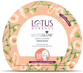 Lotus Herbals WhiteGlow Insta Purifying Serum Mask 20g