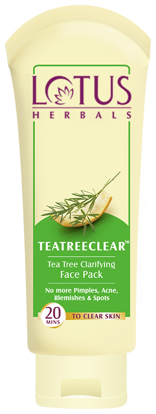 Lotus Herbals Tea Tree Clarifying Face Pack 60 gm