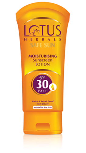 Lotus Herbals Safe Sun Moisturizing Sunscreen Lotion Spf 30 PA++100 gm