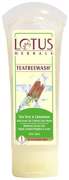 Lotus Herbals Tea Tree Absolute Oil Control Face Wash 120 G
