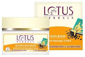 Lotus Herbals Quincenourish Quince Seed Massage Creme 50 gm