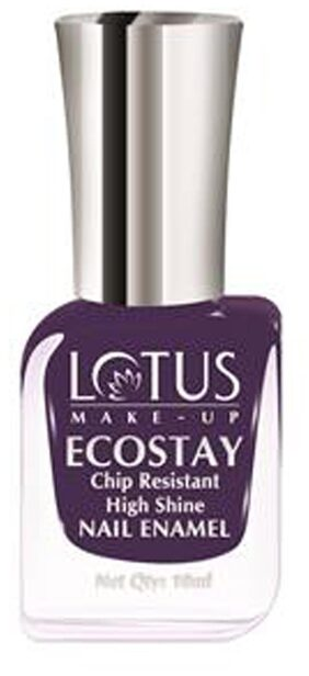 Lotus Make-up Ecostay Nail Enamels Purple Dazzle E50 10 ml