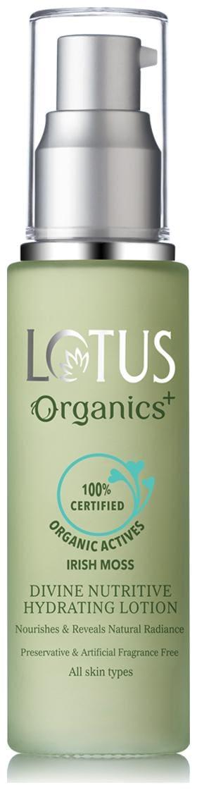 Lotus Organics Divine Nutritive Hydrating Lotion SPF20 50g