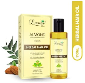 Luster Almond Herbal Hair Oil-110 ml