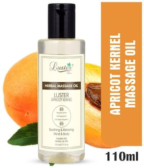 Luster Apricot Kernel Herbal Massage Oil -110 ml