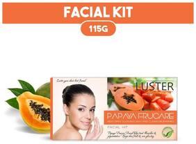 LUSTER Papaya  Facial Kit (115g)