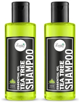 Luster Tea Tree Oil Shampoo (Pack of 2-210 ml each)