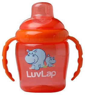 Luvlap Hippo Sipper Orange 225 ml