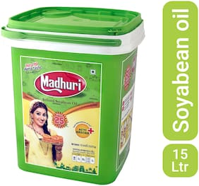 Madhuri Refined Soyabean Oil Special Pack 15 L