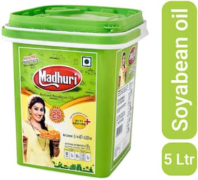 Madhuri Refined Soyabean Oil Special Pack 5 L
