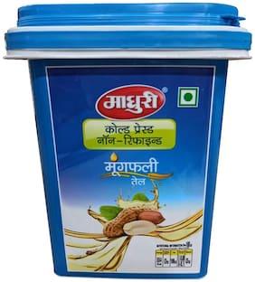 Madhuri Virgin Cold Pressed Groundnut Oil 5 L