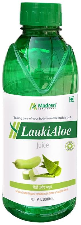 Madren Healthcare Lauki Aloe Vera Natural Juice Sugar Free 1 L (Pack Of 1)