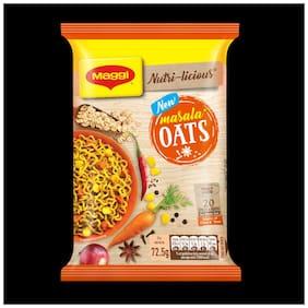 Maggi Nutrilicious Oats Noodles Masala 72.5 Gm