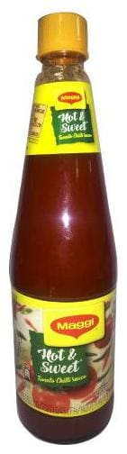 Maggi Sauce - Hot & Sweet (Tomato Chilli) 1 Kg