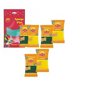 Magic Cleen Combo Sponge Wipe (Pack Of 7)