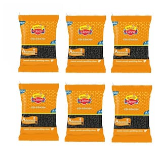 Magic Cleen Steel Scrub Pad For Tough Cleaning (Pack Of 6)
