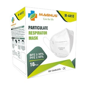 Magnus M4410 High Quality Anti Pollution Face Mask (Pack Of 10)
