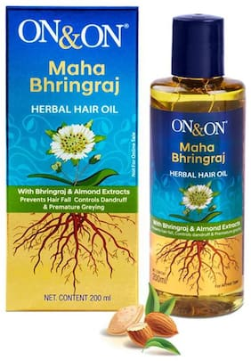ON&ON Maha Bhringraj Herbal Hair Oil
