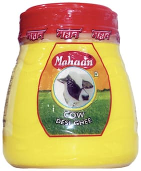 Mahaan Pure Desi Cow Ghee (1 L - PET JAR)