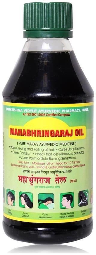 Ramkrishna Vidyut Ayurved Pharmacy Maka Mahabhringraj Oil 200 ml