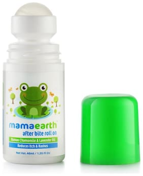 Mamaearth After Bite Roll On For Rashes & Mosquito 40ml For Babies (Pack of 2)