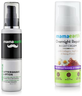 Mamaearth After Saving Men:100 ml, Night Cream:50 ml (Pack Of 2)