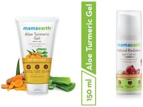 Mamaearth Aloevera Gel 150 ml, Day Cream 50 ml (Pack of 2)