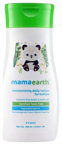 Mamaearth Baby Lotion - Daily Moisturizing  0-5 years 200 ml