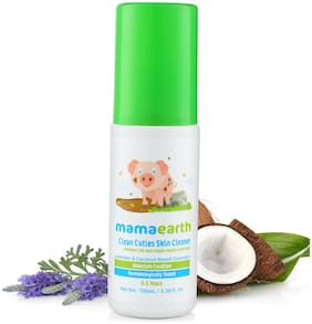 Mamaearth baby Skin Cleanser 100 Ml and nourishing wash (100 ml) (Pack of 2)