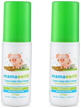 Mamaearth Baby Skin Cleanser 100 Ml (For Cleaning Pen, Marker, Make Up And Crayon Marks)( Pack Of 2)