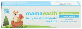 Mamaearth Berry Blast Toothpaste For Kids 50 gm