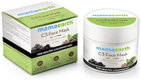 Mamaearth Charcoal, Coffee And Clay Face Mask, 100 ml