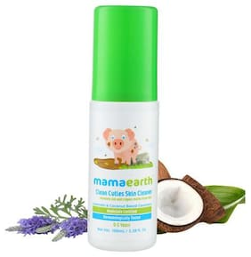 Mamaearth Clean Cuties Babies Skin Cleanser 100 ml