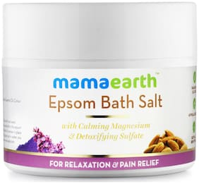 Mamaearth Epsom Bath Salt for Relaxation and Pain Relief (200 g)