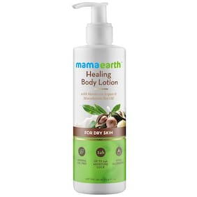 Mamaearth Healing Natural Body Lotion With Argan Oil & Macadamia Nut For Women & Men 250 ml