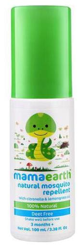 Mamaearth Insect Repellent - Natural For Babies  1-5 years 100 ml