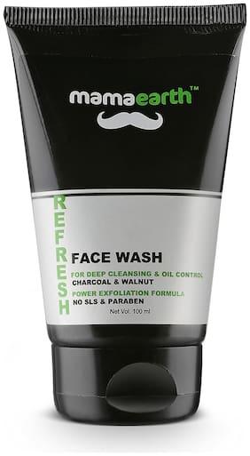 Mamaearth Men'S Refresh Oil Control Face wash 100ml