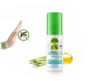 Mamaearth Natural Insect Repellent for babies (100ml,0-5 Yrs)