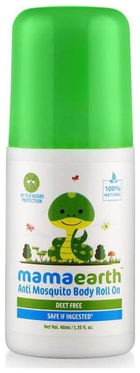 Mamaearth Natural Anti Mosquito Body Roll On, 40ml
