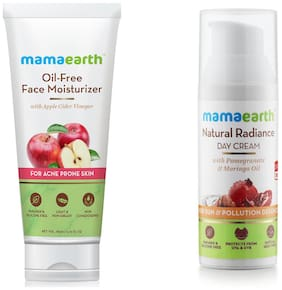 Mamaearth Oil Free 80 ml And Day Cram 50 ml (Pack of 2)
