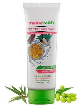 Mamaearth Tea Tree Natural Face Wash With Tea Tree Oil & Neem Extract 100 ml