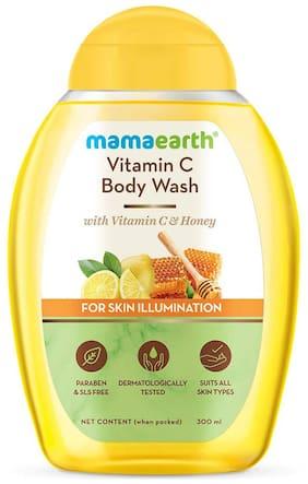 Mamaearth Vitamin C Body Wash with Vitamin C & Honey for Skin Illumination - 300 ml