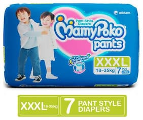 Mamypoko Baby Diapers & Wipes 7 Pcs