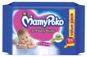 Mamypoko Baby Wipes 100 pcs