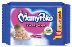 Mamypoko Baby Wipes 100 pcs